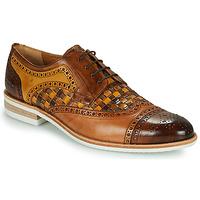 Pantofi Bărbați Pantofi Derby Melvin & Hamilton HENRY 7 Maro