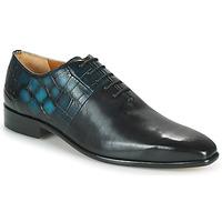 Pantofi Bărbați Pantofi Oxford Melvin & Hamilton LANCE 61 Negru / Albastru