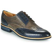 Pantofi Bărbați Pantofi Derby Melvin & Hamilton BOBBY 1 Gri / Albastru