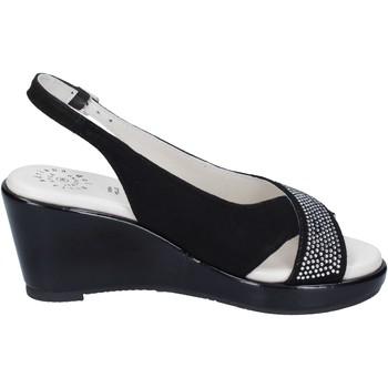 Pantofi Femei Sandale  Adriana Del Nista BJ04 Negru