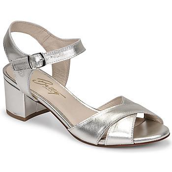 Pantofi Femei Sandale  Betty London OSKAIDI Argintiu