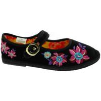 Pantofi Femei Papuci de casă De Fonseca DEFONFRIUPAPFIORIner nero