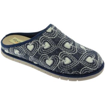 Pantofi Femei Papuci de vară Riposella RIP2626blu blu