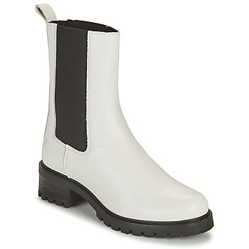 Pantofi Femei Ghete Betty London OLANDI Alb