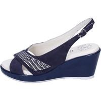 Pantofi Femei Sandale  Adriana Del Nista BJ08 Albastru