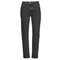 Îmbracaminte Femei Jeans boyfriend Levi's 501 CROP Negru