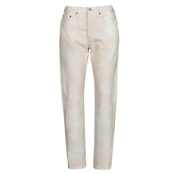 Îmbracaminte Femei Jeans boyfriend Levi's 501 CROP Piersica