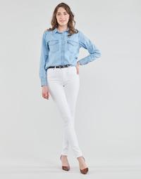 Îmbracaminte Femei Jeans skinny Levi's 721 HIGH RISE SKINNY Alb