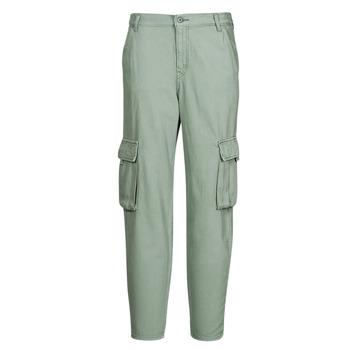 Îmbracaminte Femei Pantaloni Cargo Levi's LOOSE CARGO Gri / Verde