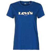Îmbracaminte Femei Tricouri mânecă scurtă Levi's THE PERFECT TEE Albastru