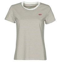 Îmbracaminte Femei Tricouri mânecă scurtă Levi's PERFECT TEE Bej