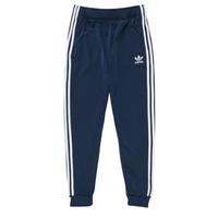 Îmbracaminte Copii Pantaloni de trening adidas Originals GN8454 Albastru