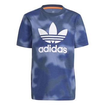 Îmbracaminte Băieți Tricouri mânecă scurtă adidas Originals GN4119 Albastru
