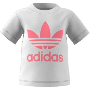 Îmbracaminte Copii Tricouri mânecă scurtă adidas Originals GN8175 Alb