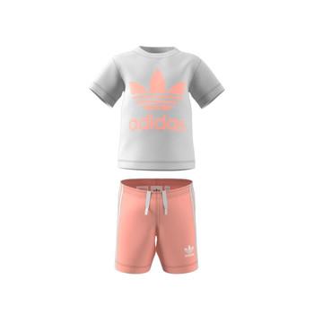 Îmbracaminte Copii Compleuri copii  adidas Originals GN8192 Alb