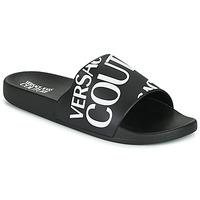 Pantofi Bărbați Șlapi Versace Jeans Couture TENNIA Negru / Alb
