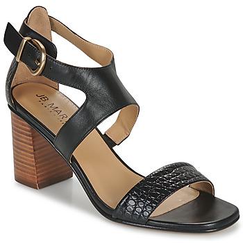 Pantofi Femei Sandale  JB Martin 1NAWELI Negru / Gri