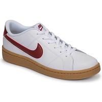 Pantofi Bărbați Pantofi sport Casual Nike COURT ROYALE 2 LOW Alb / Roșu