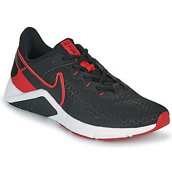Pantofi Bărbați Multisport Nike LEGEND ESSENTIAL 2 Negru / Roșu