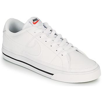 Pantofi Femei Pantofi sport Casual Nike COURT LEGACY Alb