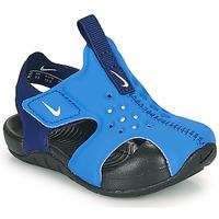 Pantofi Băieți Șlapi Nike SUNRAY PROTECT 2 TD Albastru
