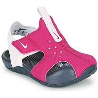 Pantofi Fete Șlapi Nike SUNRAY PROTECT 2 TD Violet