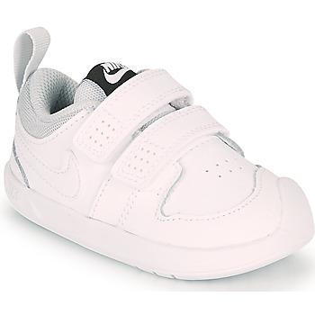 Pantofi Copii Pantofi sport Casual Nike PICO 5 TD Alb