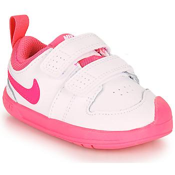 Pantofi Fete Pantofi sport Casual Nike PICO 5 TD Alb / Roz