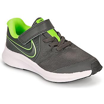 Pantofi Băieți Multisport Nike STAR RUNNER 2 PS Gri / Verde
