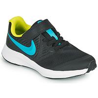 Pantofi Băieți Multisport Nike STAR RUNNER 2 PS Negru / Albastru