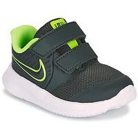 Pantofi Băieți Multisport Nike STAR RUNNER 2 TD Negru / Verde