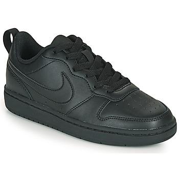 Pantofi Copii Pantofi sport Casual Nike COURT BOROUGH LOW 2 GS Negru
