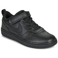 Pantofi Copii Pantofi sport Casual Nike COURT BOROUGH LOW 2 PS Negru