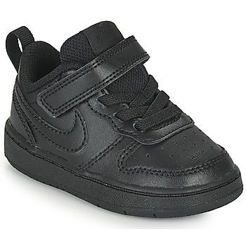 Pantofi Copii Pantofi sport Casual Nike COURT BOROUGH LOW 2 TD Negru