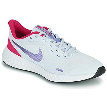 Pantofi Fete Multisport Nike REVOLUTION 5 GS Albastru / Violet