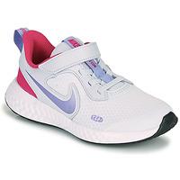 Pantofi Fete Multisport Nike REVOLUTION 5 PS Albastru / Violet