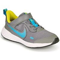Pantofi Băieți Multisport Nike REVOLUTION 5 PS Gri / Albastru