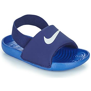 Pantofi Băieți Șlapi Nike NIKE KAWA TD Albastru