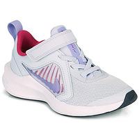 Pantofi Fete Multisport Nike DOWNSHIFTER 10 PS Albastru / Violet