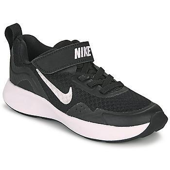 Pantofi Copii Multisport Nike WEARALLDAY PS Negru / Alb