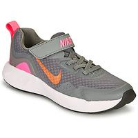 Pantofi Fete Multisport Nike WEARALLDAY PS Gri / Roz