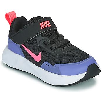 Pantofi Fete Multisport Nike WEARALLDAY TD Negru / Albastru