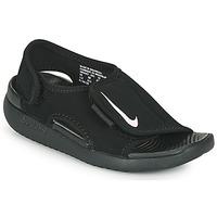 Pantofi Copii Șlapi Nike SUNRAY ADJUST 5 V2 PS Negru