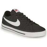 Pantofi Bărbați Pantofi sport Casual Nike NIKE COURT LEGACY CANVAS Negru / Alb