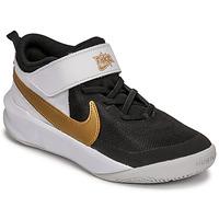 Pantofi Copii Multisport Nike NIKE TEAM HUSTLE D 10 Alb / Negru / Auriu