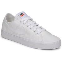 Pantofi Femei Pantofi sport Casual Nike NIKE COURT LEGACY CANVAS Alb