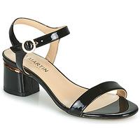 Pantofi Femei Balerin și Balerini cu curea JB Martin MALINA Negru