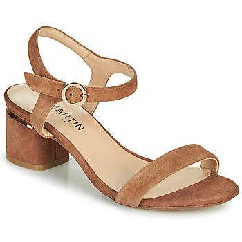 Pantofi Femei Balerin și Balerini cu curea JB Martin MALINA Maro