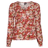 Îmbracaminte Femei Cămăși și Bluze Vero Moda VMSIMPLY EASY Roșu