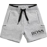 Îmbracaminte Băieți Pantaloni scurti și Bermuda BOSS J04M57-A32-B Gri